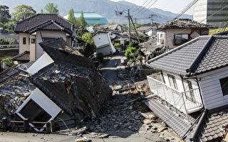 熊本强震已41死 气候将恶化 抢时间救灾民