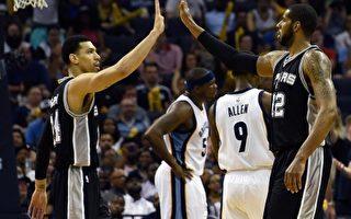 NBA季後賽 馬刺4比0橫掃灰熊率先晉級