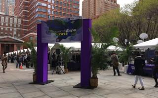 纽约大学科技成果博览  华裔学生成果丰