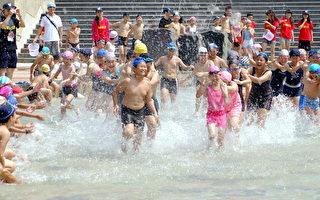 烏山頭親水公園開放 夏日好戲水