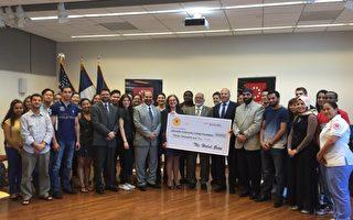纽约街头餐车企业 捐三万美元给社区大学