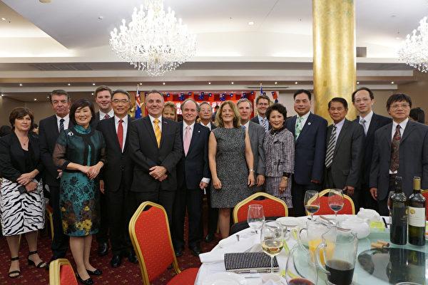 悉尼僑界慶中華民國新總統就職