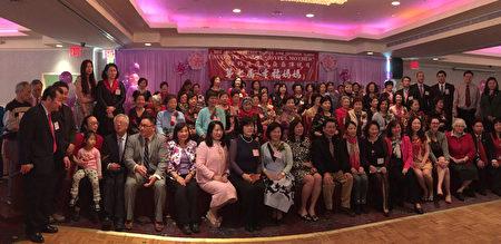 法拉盛华商会在母亲节当天举办一年一度的幸福妈妈庆祝活动,祝天下的妈妈母亲节快乐。