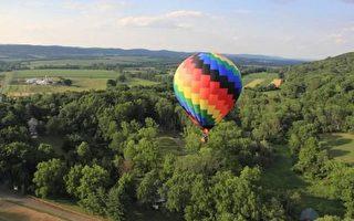 乘热气球欢游受困 17人纳帕谷获救