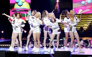 「少女時代」四度攻蛋 八人組台灣首唱
