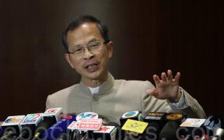 5月26日,香港立法会主席在香港报纸专栏指中央有人插手香港事务,甚至提出枪炮威胁论,暗批张德江。(蔡雯文/大纪元)