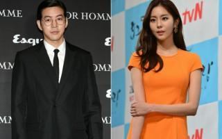 韩娱乐圈再诞生一对明星情侣,图为演员李相仑(左)与UIE资料照。(大纪元,newsis/大纪元合成)