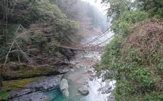 日本三大祕境之一  祖谷藤橋