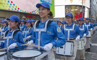 2016年5月13日,紐約上萬人遊行慶祝第17屆法輪大法日。(Mark Zou/大紀元)