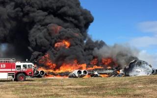 美B52轰炸机在关岛坠毁 7机组人员生还