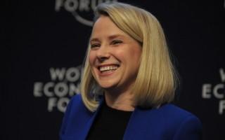 雅虎公司(Yahoo Inc.)執行長梅爾(Marissa Mayer)。(PERIC PIERMONT/AFP/Getty Images)