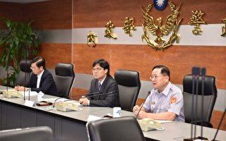 台内政部长履新 要求警服标示身份