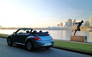 車評:不能穿的牛仔褲 2016 Volkswagen Beetle Convertible Denim