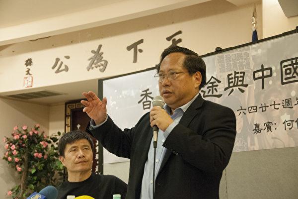 何俊仁与周锋锁旧金山对谈:香港对中国仍然很重要