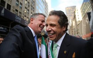 紐約市長白思豪和州長庫默 卷入反腐風暴