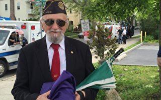国殇日游行 纽约老兵反战 华人赞赏自由