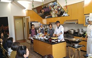 國際食神巡迴大溫 講授臺灣美食