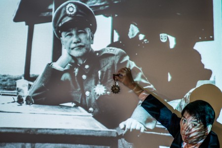 蒋介石(PHILIPPE LOPEZ/AFP/GettyImages)