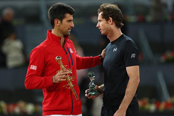 馬德里網賽 小德勝穆雷奪冠 哈勒普封后