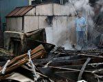 最近,地震專家警告南加民衆,聖安德列亞斯斷層(San Andreas fault)正醞釀大地震,且蓄勢待發。圖為2014年8月24日在加州納帕發生了6.0級地震,造成建築物損壞,人員受傷。( Justin Sullivan/Getty Images)