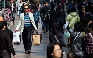 2016年4月1日的上海街景。(JOHANNES EISELE/AFP/Getty Images)