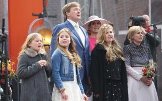荷兰国王节春寒料峭 君主制人气下滑
