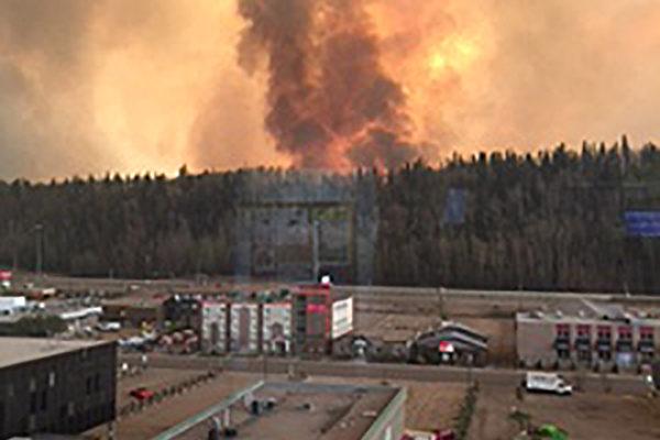 加油砂地大火蔓延面积超纽约 原油期货涨4%