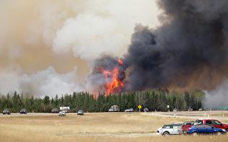 加国大火面积将翻番 目击者:如世界末日