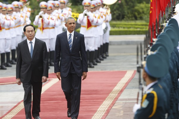 奧巴馬解除對越南長達50年的武器禁運