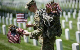 組圖:陣亡將士紀念日活動彰顯美國精神