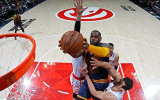 NBA季後賽 騎士橫掃老鷹 晉級東部決賽