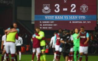 英超:曼聯不敵西漢姆 恐無緣下賽季歐冠