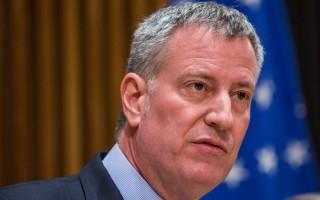纽约市长白思豪挨查 幕后推手是谁?