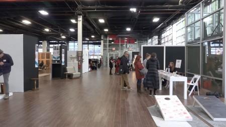 今年有70多個品牌參加了布碌崙設計展。