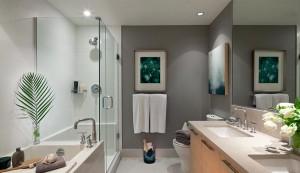 高贵林市中心最高居民楼MThree,这是其洗手间。(Cessay开发商提供)