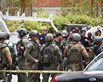 美西時間6月1日,美國加州洛杉磯分校(UCLA)校園槍擊案。(ROBYN BECK/AFP)