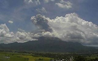 菲國火山噴發  灰雲衝2公里高