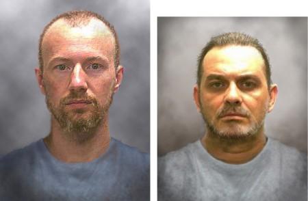 两名逃犯画像。(New York State Police via Getty Images)