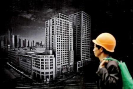 有文章稱,大陸樓市成為全世界有史以來最大的賭場,但只需一招樓市就會立即崩潰。(AFP/Getty Images)