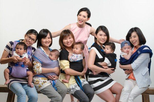 劉真推廣親密育兒 分享現代媽咪新觀念