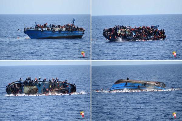 破紀錄 義大利海防隊今年救起18萬難民
