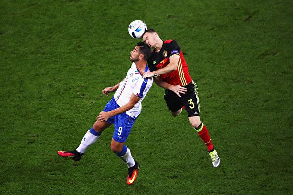 组图:欧洲杯两强相争 意大利2:0胜比利时