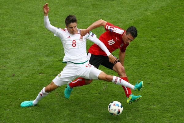 组图:欧洲杯F组首轮  匈牙利2:0胜奥地利
