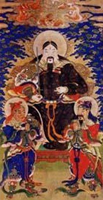 玄武大帝肖像图(公有领域)