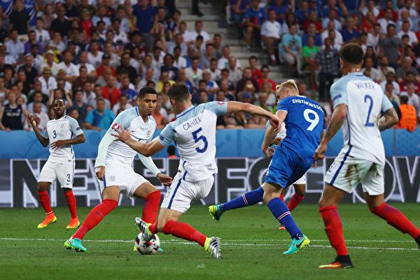 北欧独苗爆冷晋级! 冰岛2:1胜英格兰
