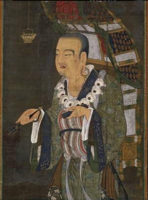 宋代〈玄奘負笈圖〉(局部),現藏東京國立博物館。(公有領域)