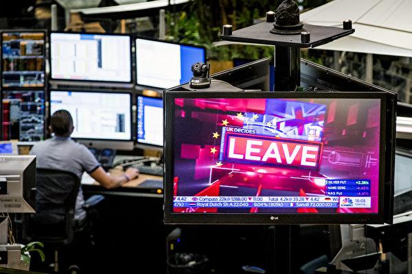 英國脫歐公投6月24日公佈,過半數同意脫歐,此為歐盟會員國首度決定脫離。(AFP)