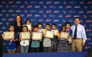 紐約三名華裔小學生獲「讀者是領袖」獎