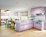 主图:厨房与室内空间的融合,影响生活品质甚多,值得投入多一点资源和用心。(威肯设计提供)