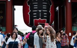 東京 15年到訪的外國遊客1189萬 創新高
